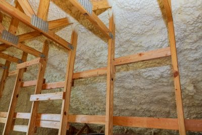 Spray Foam Insulation Attic Installation - Amarillo, Texas