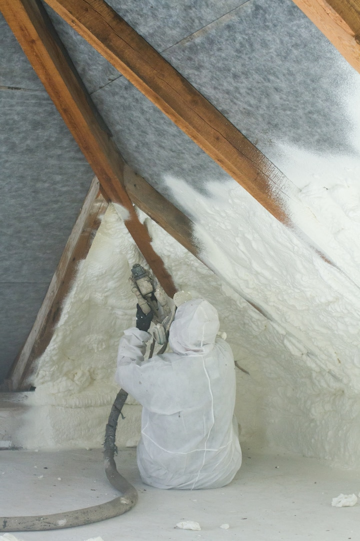 Spray Foam Insulation Install Contractors Amarillo