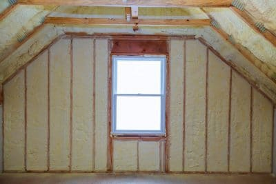 Spray Foam Insulation New Installation Amarillo