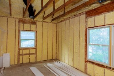 Spray Foam Insulation New Installation - Amarillo